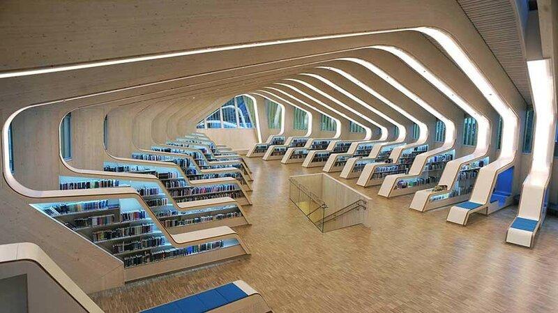 Веннесльская библиотека, Веннесла, Норвегия.
