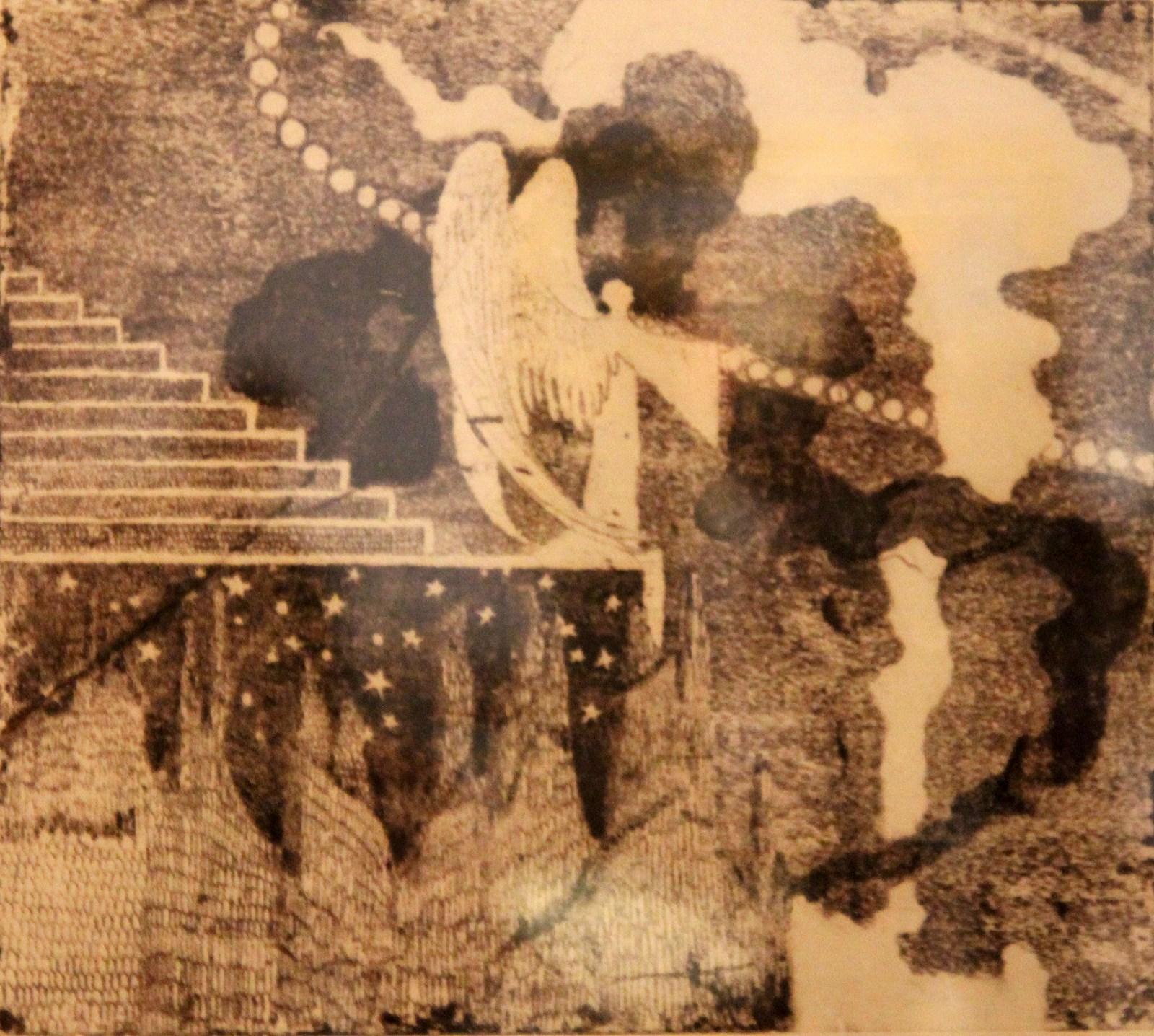 Чюрлёнис М.К. 1875-1911 Жертва. 1907-1908 Бумага, флорофорт Художественный музей Литвы