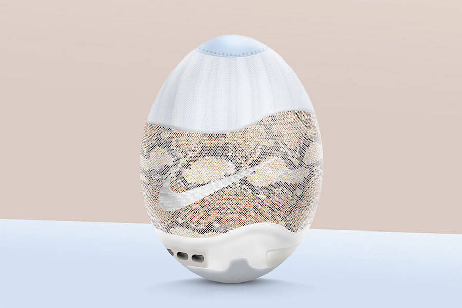 Creative Sneakers Eggs for Easter