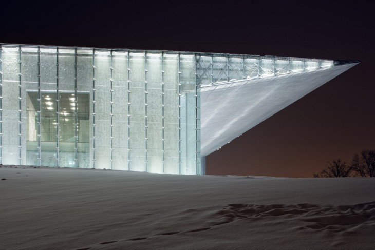 Estonian National Museum by Dorell Ghotmeh Tane