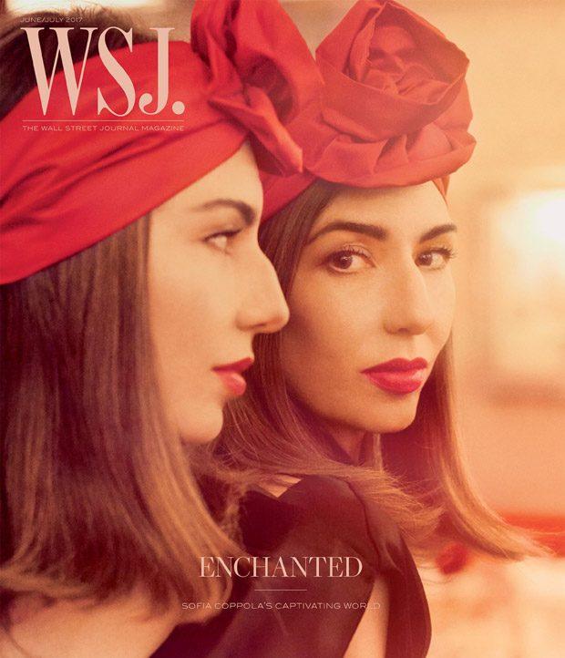 Sofia Coppola Stuns for WSJ. Magazine June July 2017 Cover Story (8 pics)