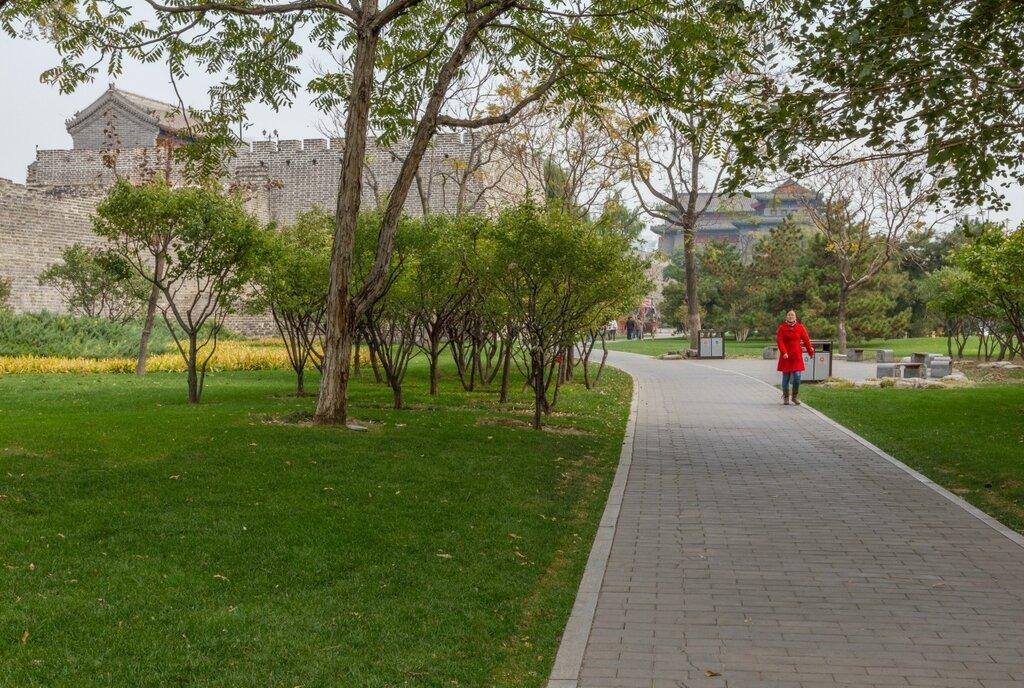 Парк стены династии Мин, Пекин