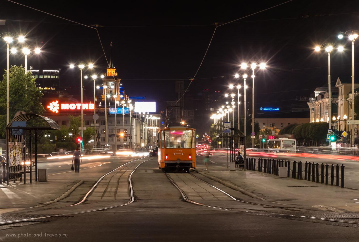 24. Фотографируем ночной городской пейзаж на Fujifilm X30. 2.1, 8.0, 200, 28.4