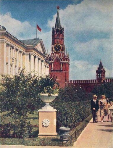 Здание Президиума Верховного Совета СССР в 1960-е годы