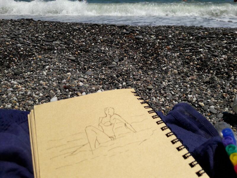 Пленэр у моря