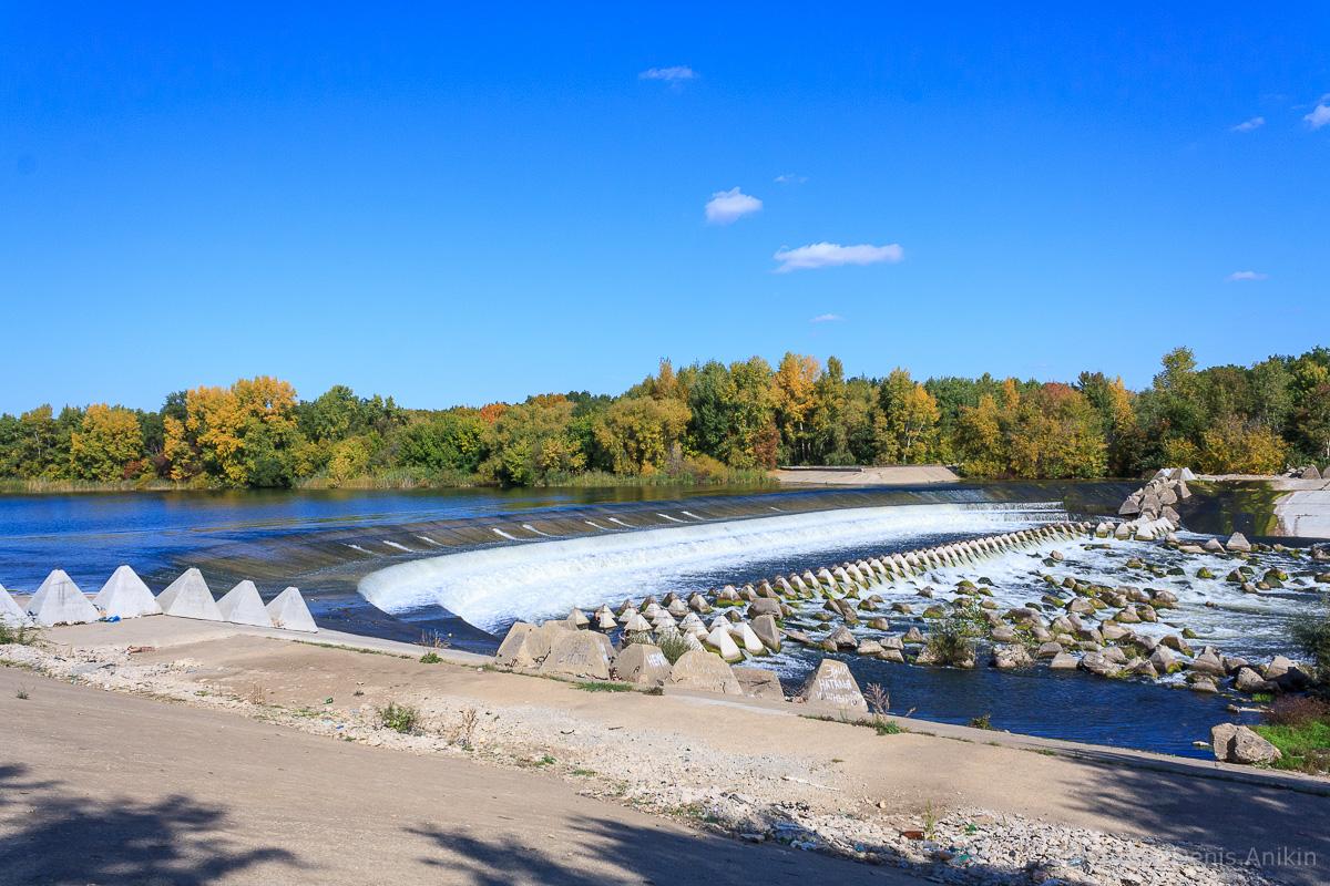 Переливная плотина на реке Большой Иргиз 1