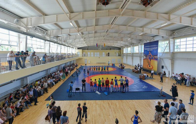 спортивный комплекс бесика кудухова