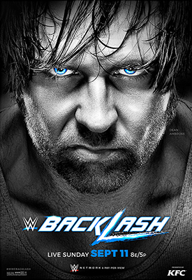 Post image of WWE Backlash 2016