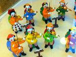 Музыканты - дымковские игрушки