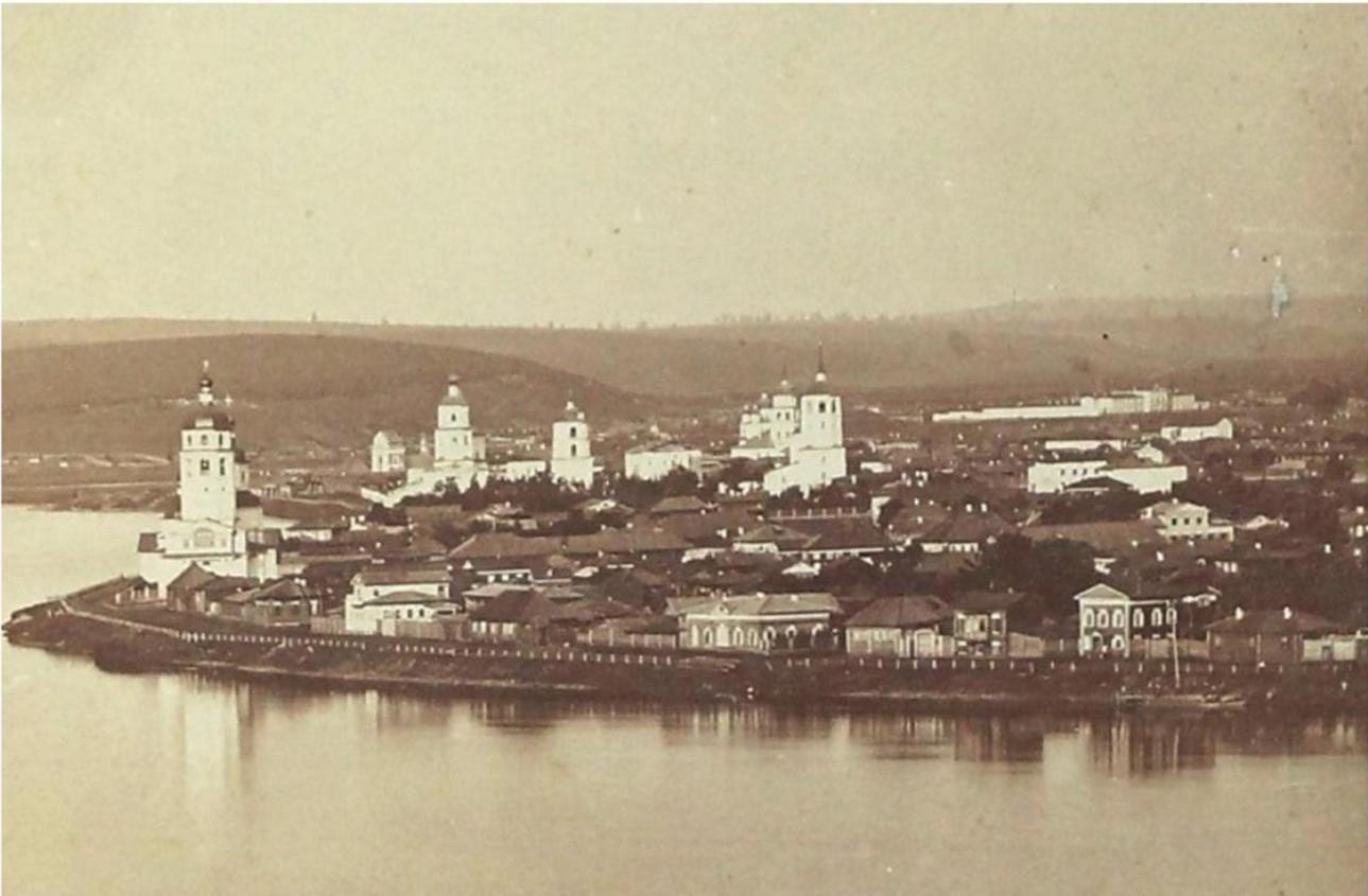 Вид города от Чудотворской церкви