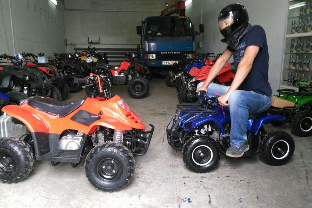 Квадроциклы из Китая
