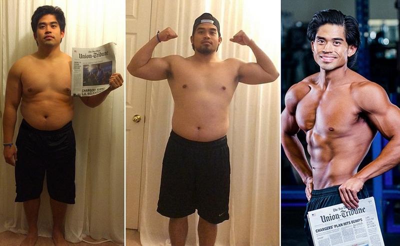 От жирдяя до атлета за 12 недель