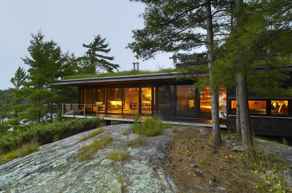 Дом для отдыха на природе в Канаде