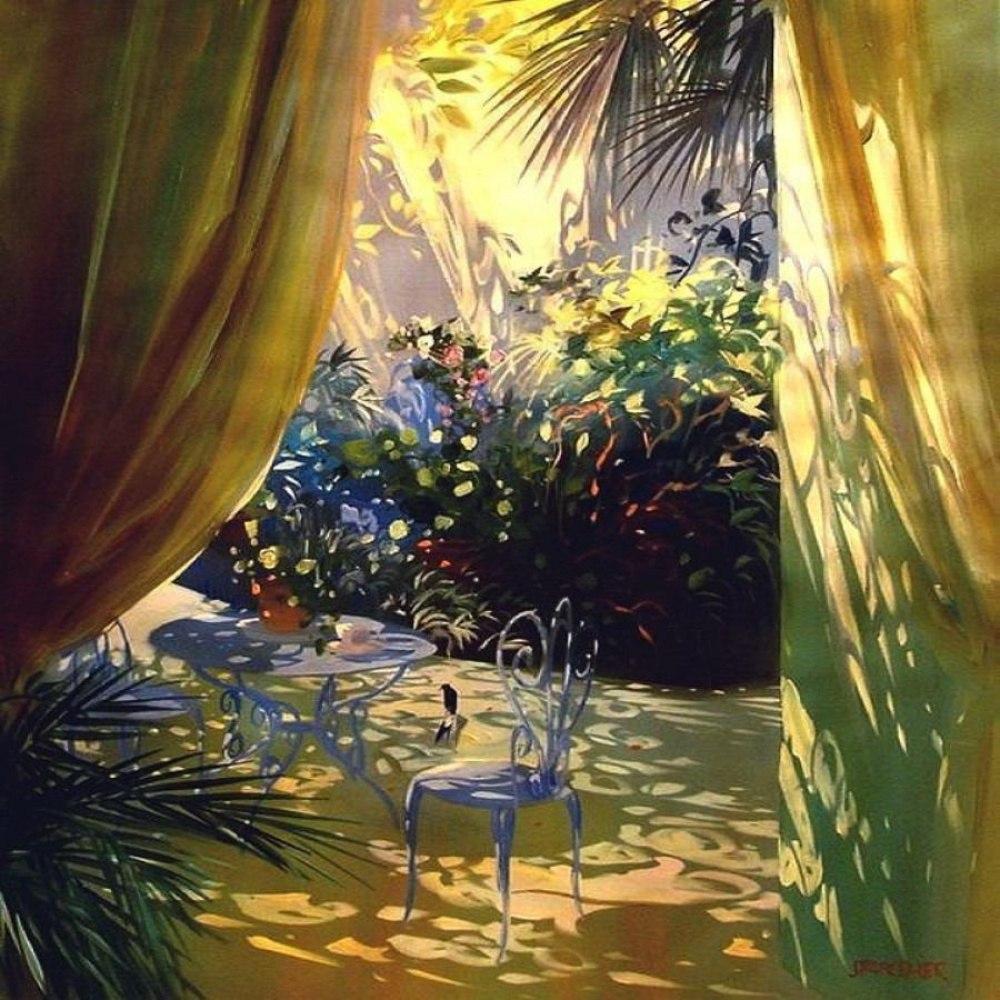 Теплые картины Лорана Парселье