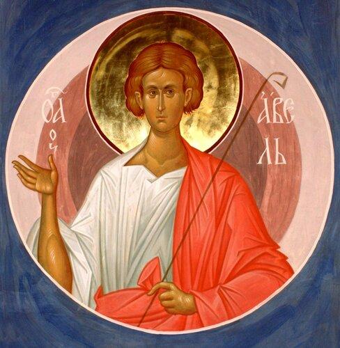 Святой Праотец Авель. Иконописец Александр Деркачёв.