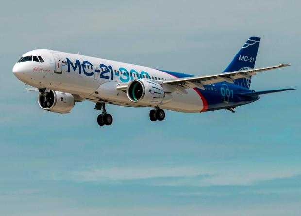 МС21 first flight