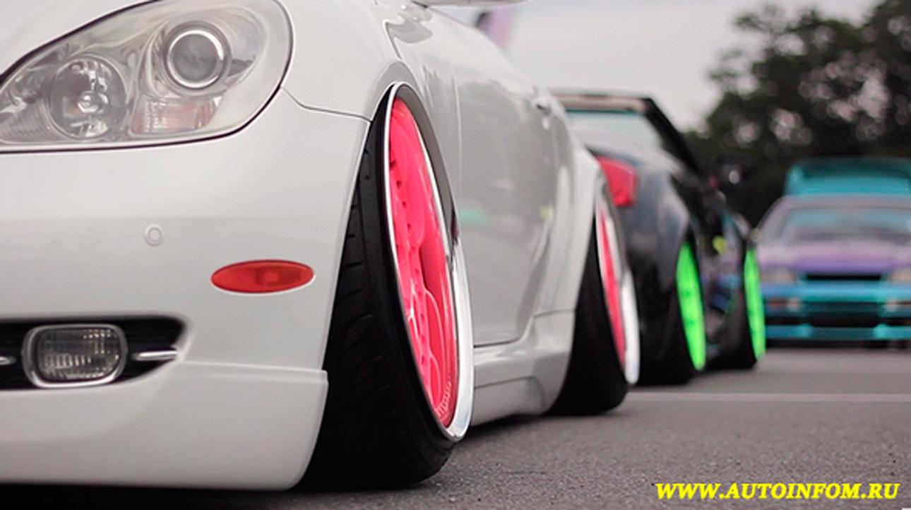Тюнинг шоу-выставка автомобилей