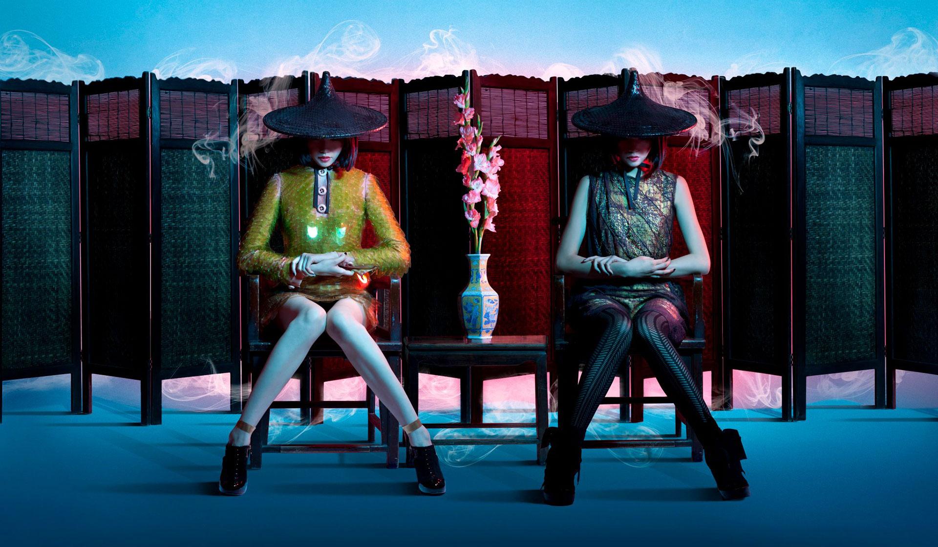 Гламурный гладиолус - The Gladiolus Glamour by Kelly & Kwokin
