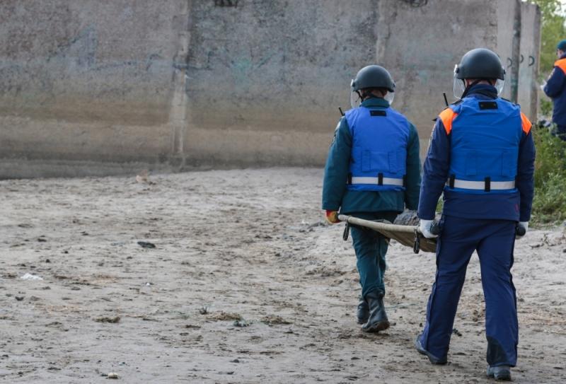 В Волгограде со дна Волги подняли фугасную бомбу