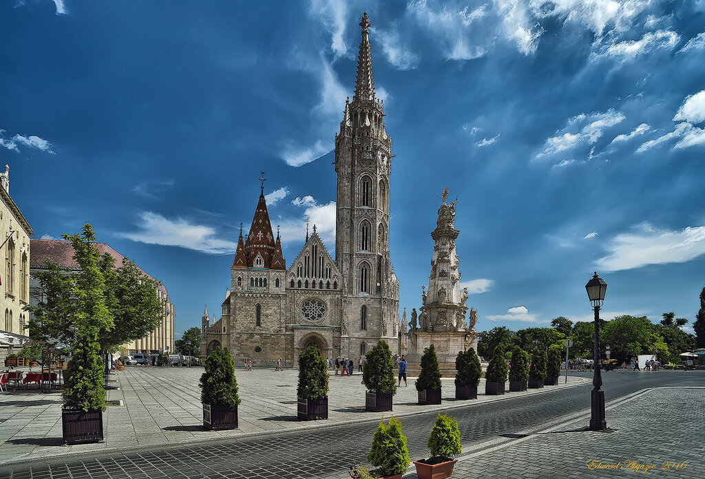 Церковь Святого Матьяша.