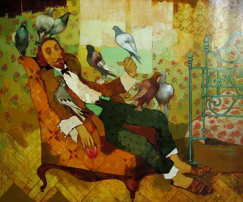 Художник Отар Имерлишвили: картины с грузинскими мотивами