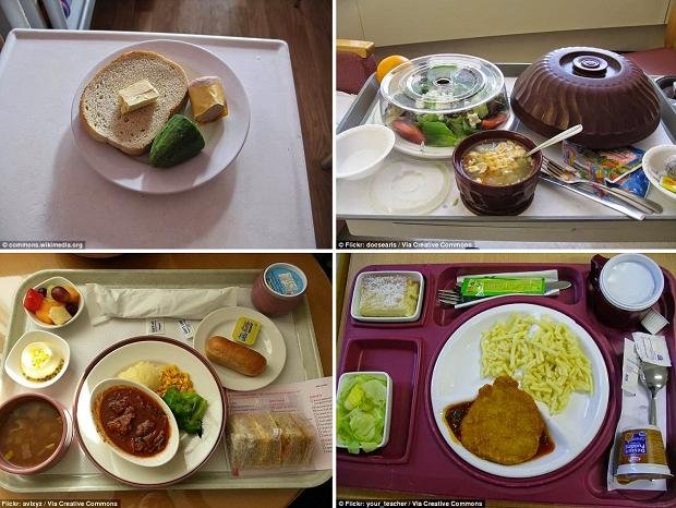 Питание в больницах разных стран