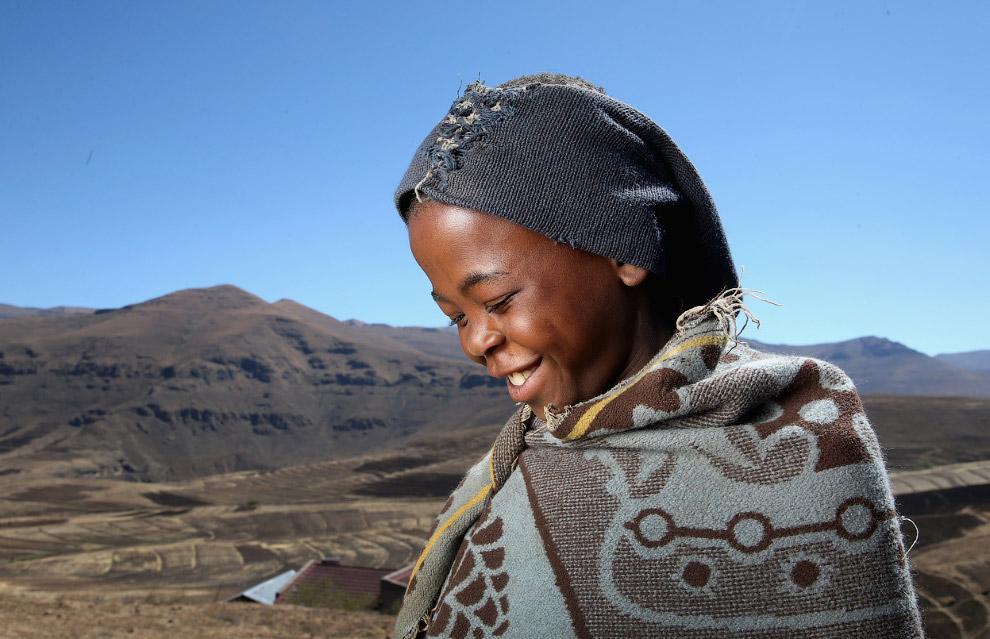 С территорией 30 355 кв.км. королевство Лесото является одним из самых маленьких государств Афр