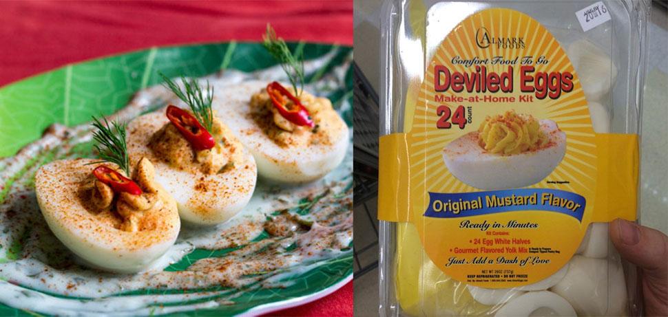 Дьявольские яйца Дьявольские яйца — более древнее блюдо, чем можно себе представить: первые упоминан