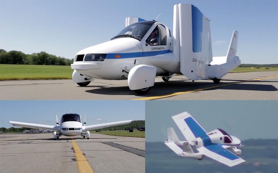 3. Соперничать с AeroMobil 3.0 может, пожалуй, только автомобиль со складывающимися крыльями Transit