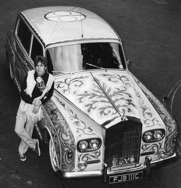 Подборка фотографий Джона Леннона с 1957 до 1980