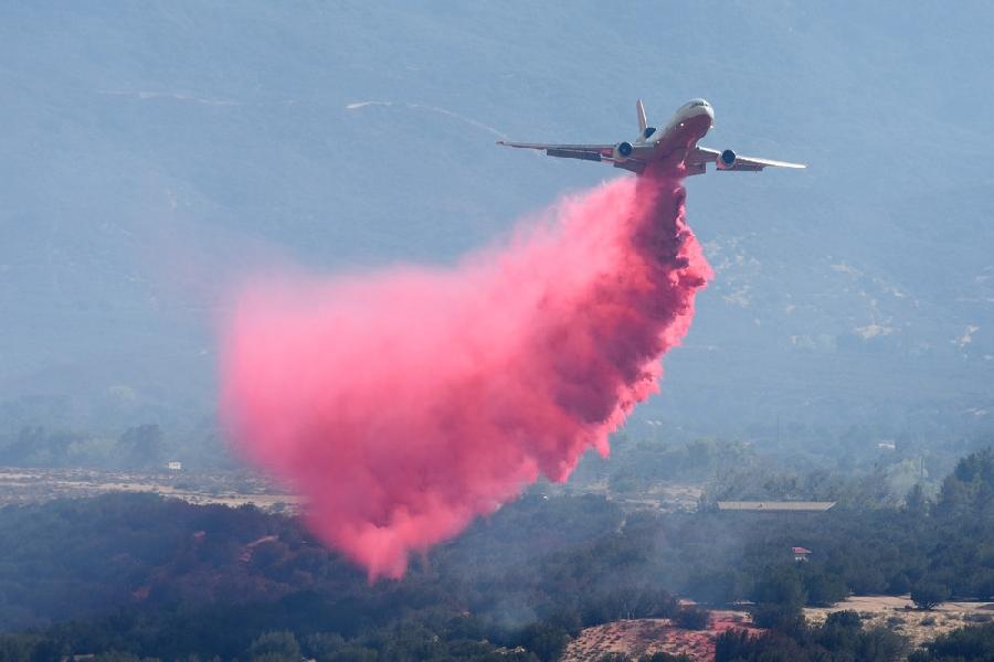 Очередной крупный пожар в Калифорнии