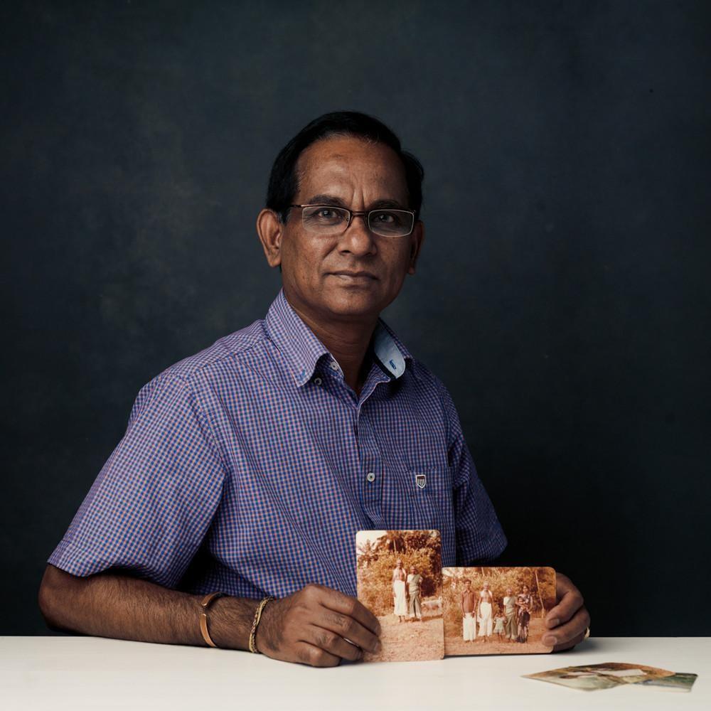 Винаситхамби, 64 года, сбежал из Шри-Ланки в 1984 году. «Мне пришлось покинуть наш дом в Шри-Ланке в