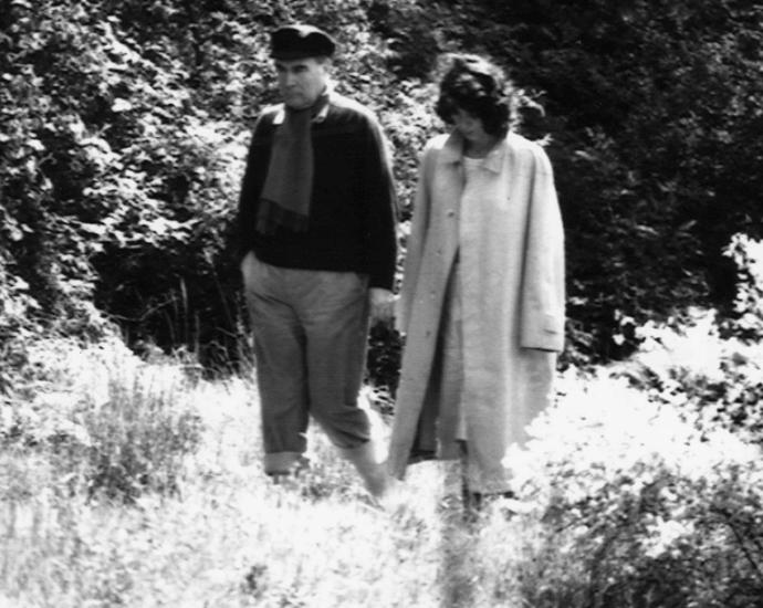 4. Франсуа Миттеран и Анн Пенжо Всю свою жизнь Миттеран считался образцово-показательным мужем, а о