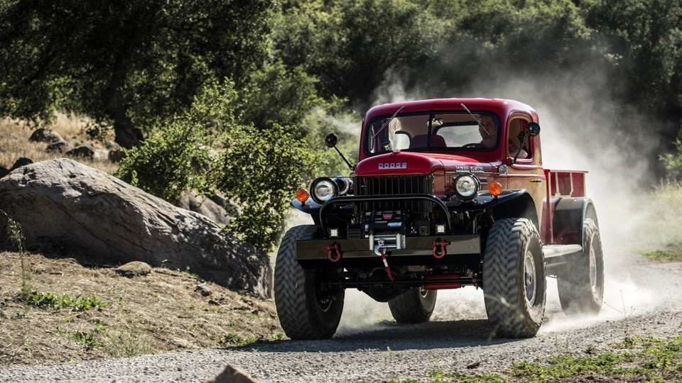 Для новых Power Wagon штампуются и новые кузова. Всё делается на заводском уровне и дорогостоящем об