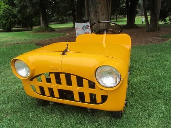 Coulson Car Самый маленький в мире внедорожник в длину достигал 120 сантиметров, а в ширину —