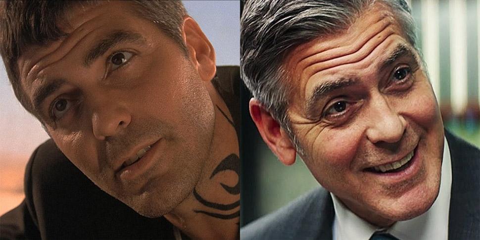 Джордж Клуни: «От заката до рассвета» (1996) и «Финансовый монстр» (2016).