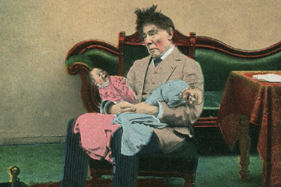 Чем опасны для общества прав женщин - открытки начала 20-го века