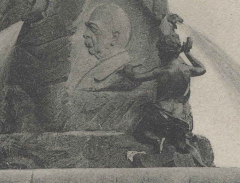 Bismarckbrunnen Flensburg - 1906 - Künstler