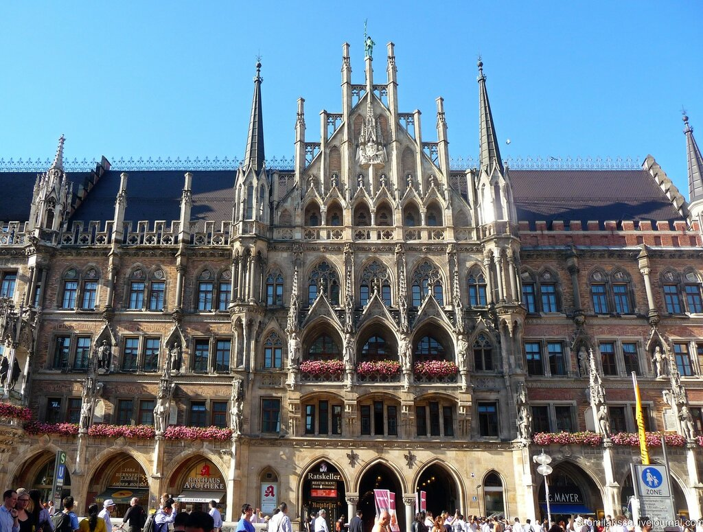 Зарисовки Мюнхена