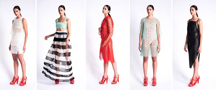 3D Fashion - A student creates her own collection at home with a 3D printer