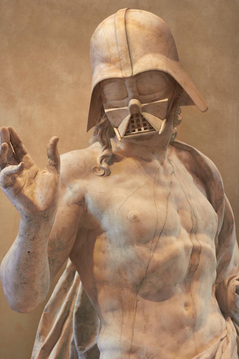 Travis Durden - When Star Wars meets the sculptures of ancient Greece