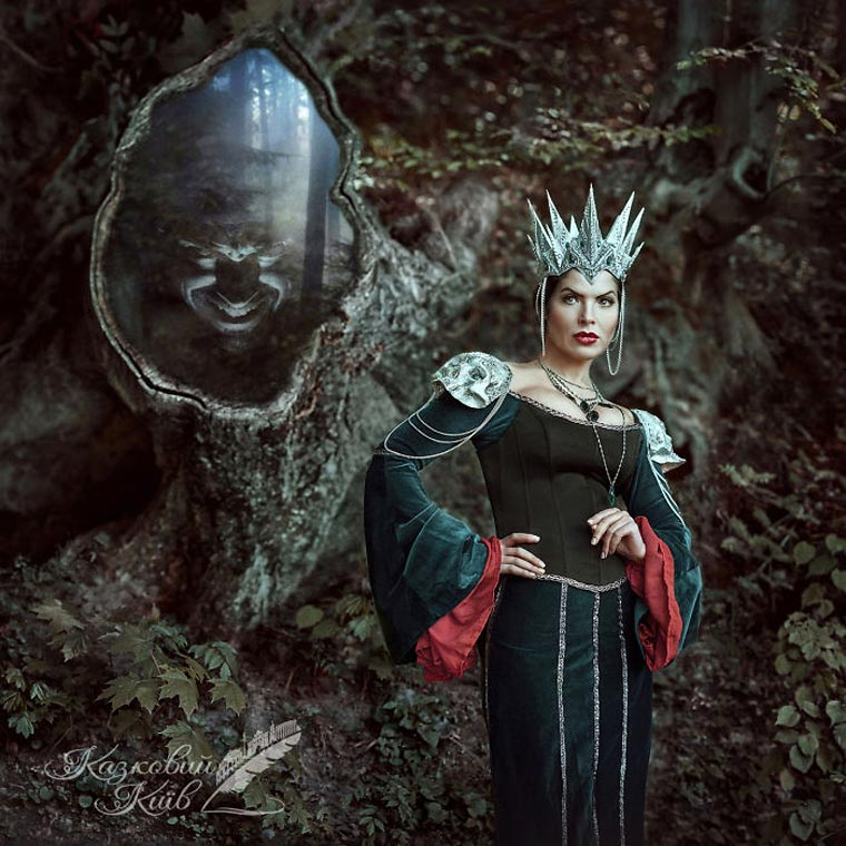 Fairy of Kiev - A stunning series of photographs honoring the Disney movies
