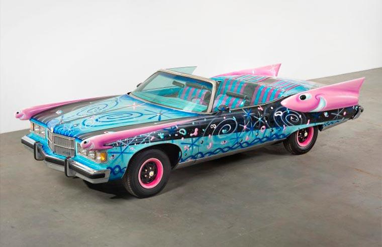 Kenny Scharf, Daisymobile, 2014