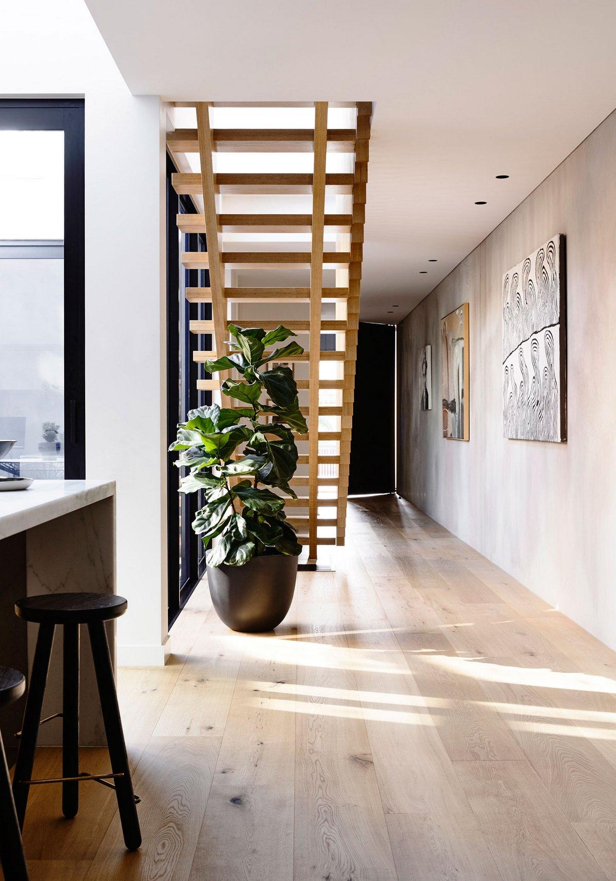 InForm, Elwood Townhouse, Элвуд, Австралия, двухэтажный современный дом фото, современные частные дома фото, частные дома в Австралии фото