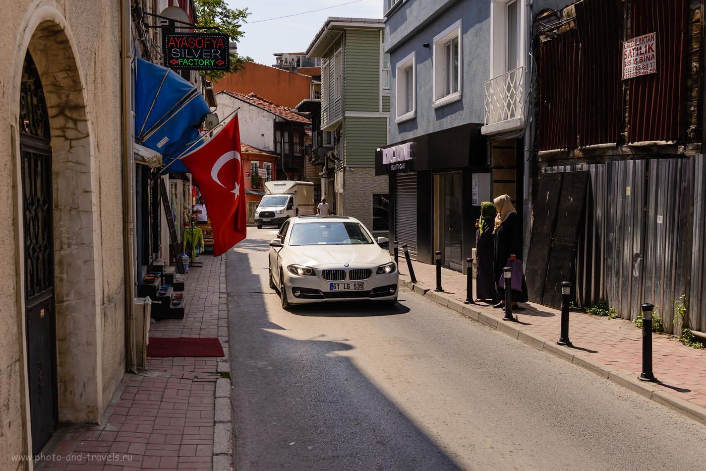 Фотография 7. Легко ли водить машину на улицах Стамбула. 1/800, -0.67, 7.1, 200, 38.