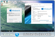 Windows 10 32/64bit Enterprise 15063 RTM CREATORS v.23-24.17 (Uralsoft)