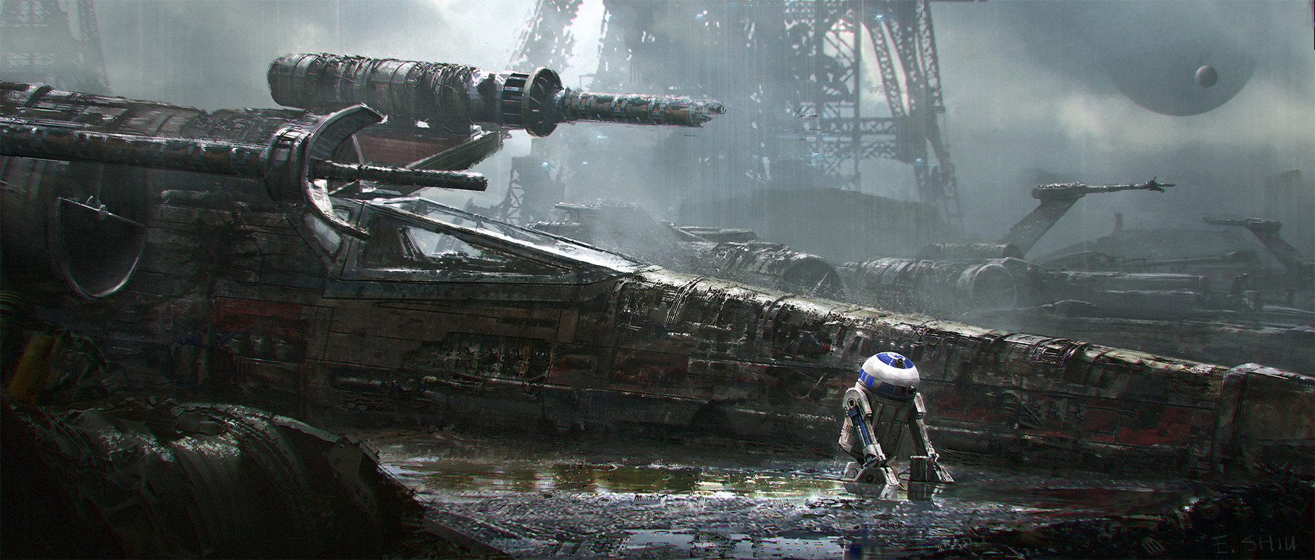 Star Wars Concept Art and Illustrations II