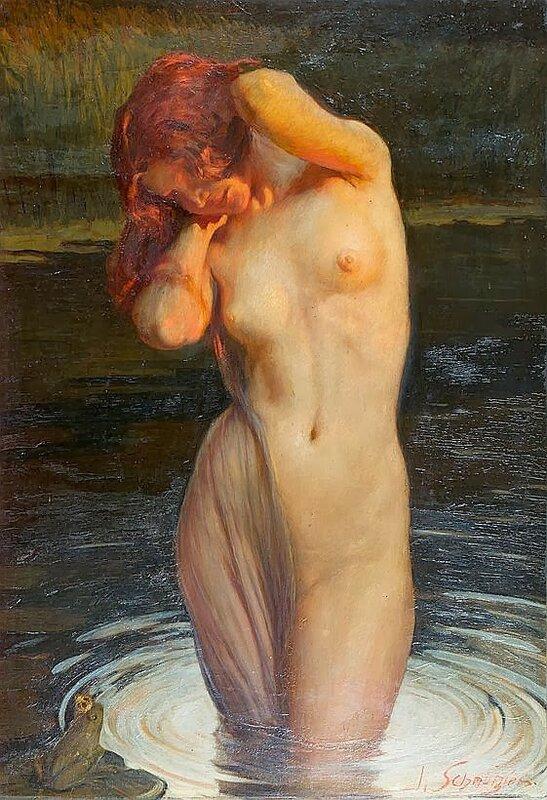 Leopold Schmutzler (1864–1940) by Catherine La Rose