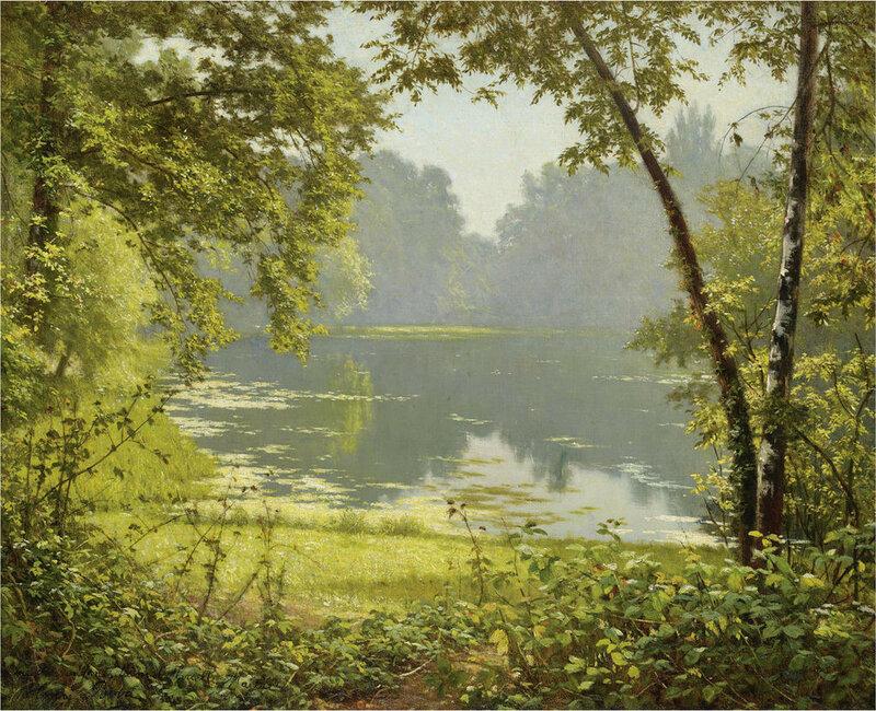 Французский художник Анри Бива, Henri Biva