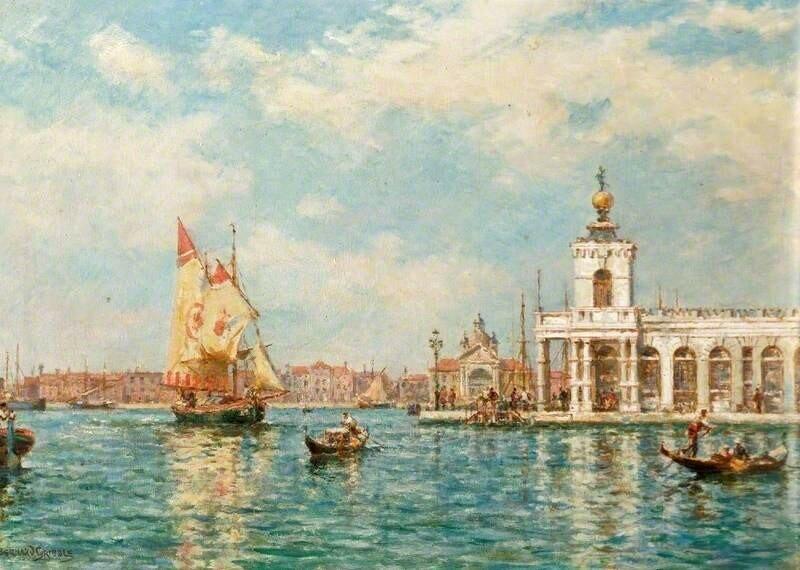Old Custom House, Venice, Italy